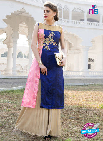 RT 16114 Blue Formal Kurti