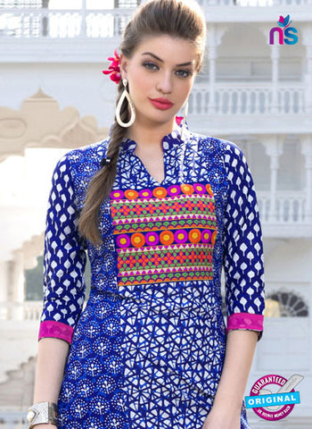 RT 16115 Blue Formal Kurti