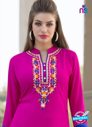 RT 16117 Pink Formal Kurti
