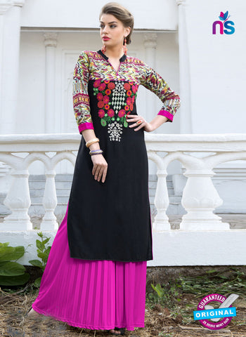 RT 16118 Black Formal Kurti