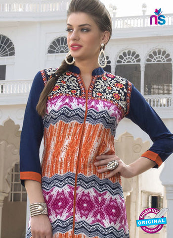 RT 16121 Orange Formal Kurti