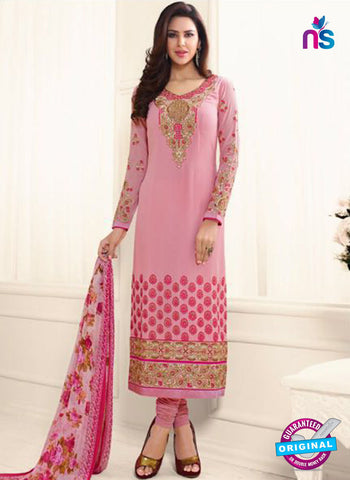 Glossy 1615 Pink Party Wear Suit