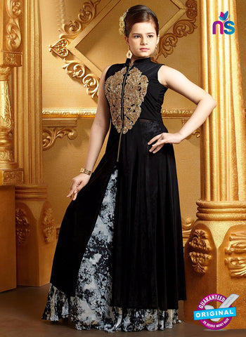 RT 16265 Black Indo Western Suit