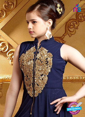 RT 16266 Blue Indo Western Suit