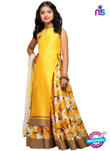 RT 16278 Yellow Indo Western Suit