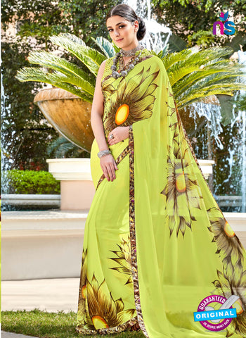 RT 16456 Green Casual Saree