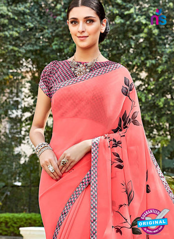 RT 16458 Peach Casual Saree