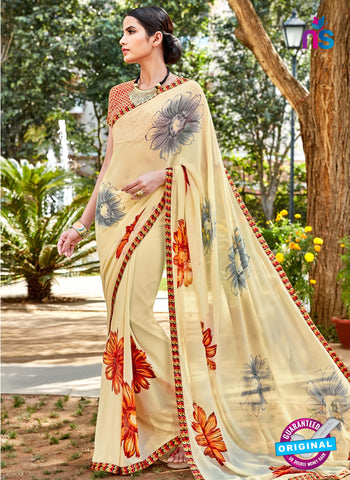 RT 16459 Beige Casual Saree