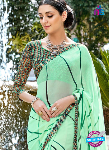 RT 16460 Sea Green Casual Saree