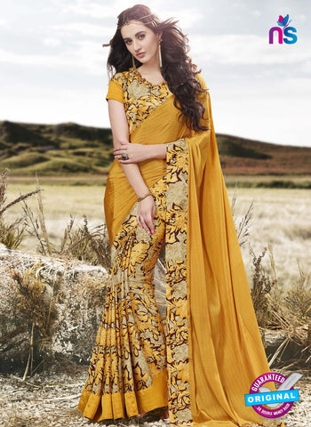 RT 16513 Yellow Formal Saree