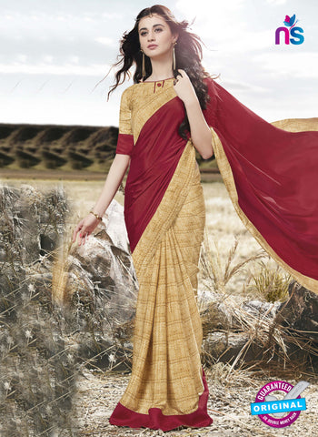 RT 16515 Beige FormalSaree
