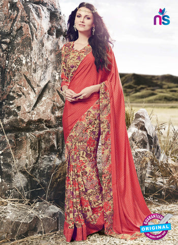 RT 16516 Beige Formal Saree