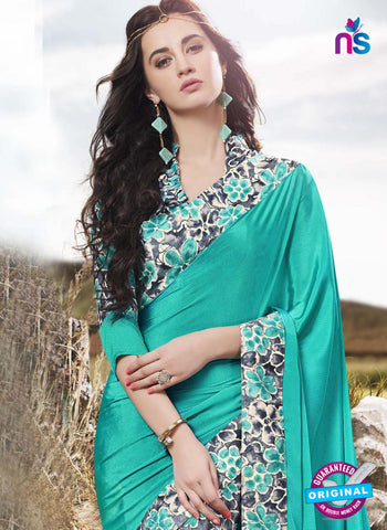 RT 16518 Sky Blue Formal Saree