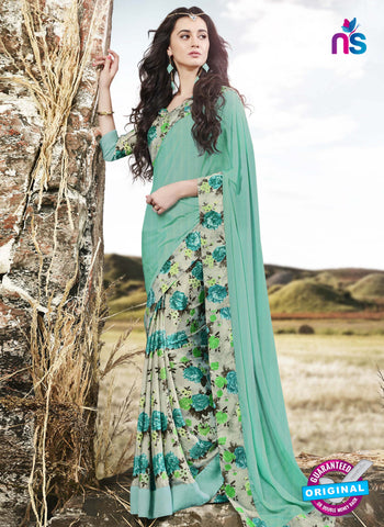 RT 16523 Grey Formal Saree