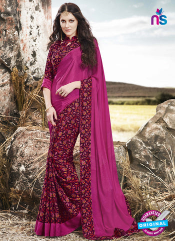 RT 16524 Purple Formal Saree