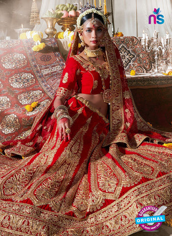 Rt 16674 Red Designer Lehenga