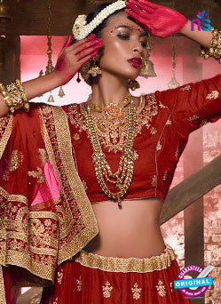 Rt 16675 Red Designer Lehenga