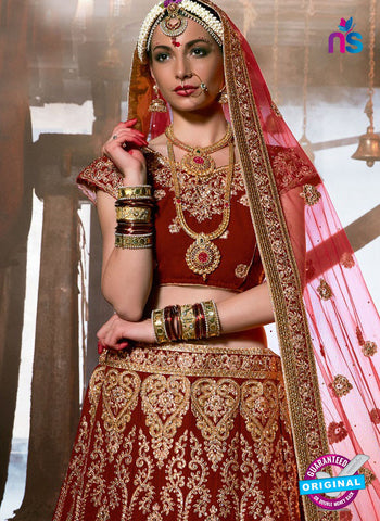 Rt 16676 Red Designer Lehenga