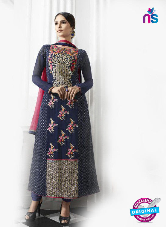 Eternal 169 Blue Georgette Embroidery Party Wear Suit