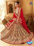 SC 13673 Red and Brown Exclusive Designer Fancy Ethnic Wedding Wear Saree