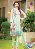 SC 13378 Green Designer Fancy Traditional Pakistani Suit