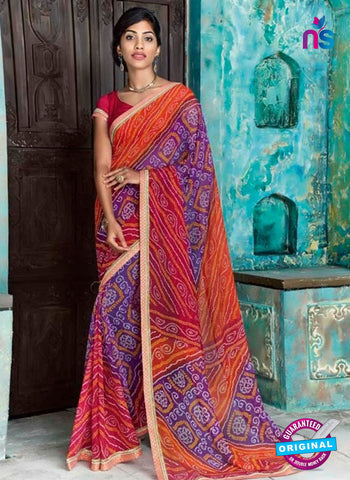 AZ 2013 Multicolor Georgette Fancy Formal Saree