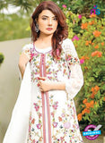 SC 13528 White Designer Fancy Traditional Wear Pakistani Suit