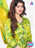 AZ 3561 Green Cotton Satin Formal Suit - Salwar Suits - NEW SHOP