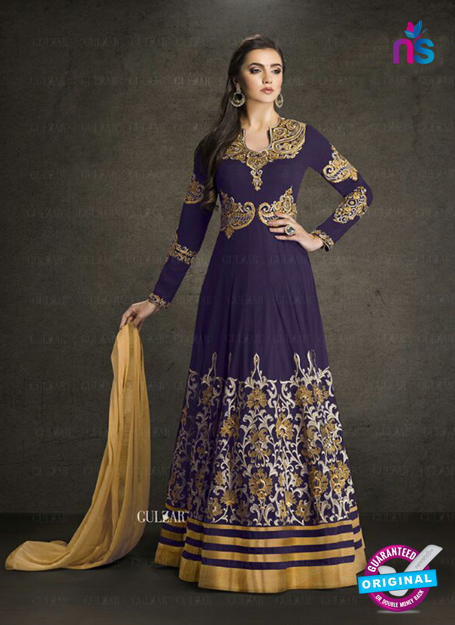 AZ 3906 Blue Faux Georgette Anarkali Suit