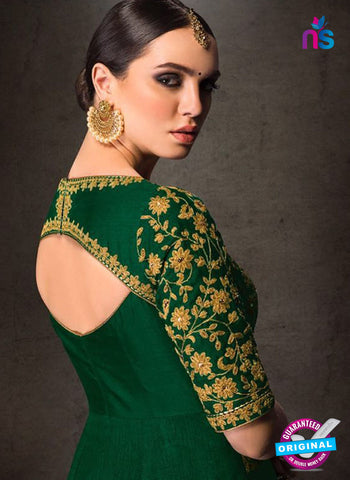 AZ 5911 Green Indo Western Suit