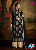 AZ 3485 Black Georgette Pakistani Suit