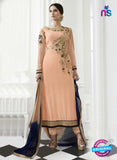 Eternal 171 Peach Georgette Embroidery Party Wear Suit