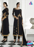 Eternal 172 Black Georgette Embroidery Party Wear Suit