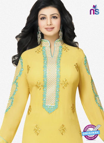 RT 17388 Yellow Party Wear Suit