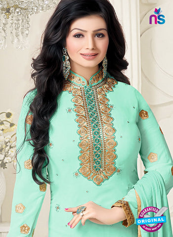 RT 17392 Sea Green Party Wear Suit