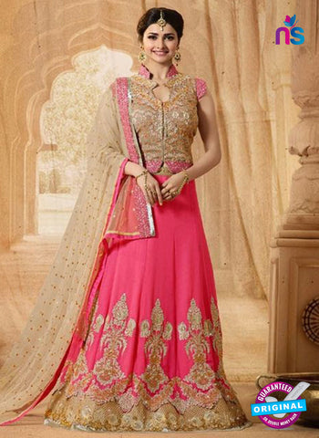Vinay Fashion 17431 Pink Georgette Wedding Lehanga