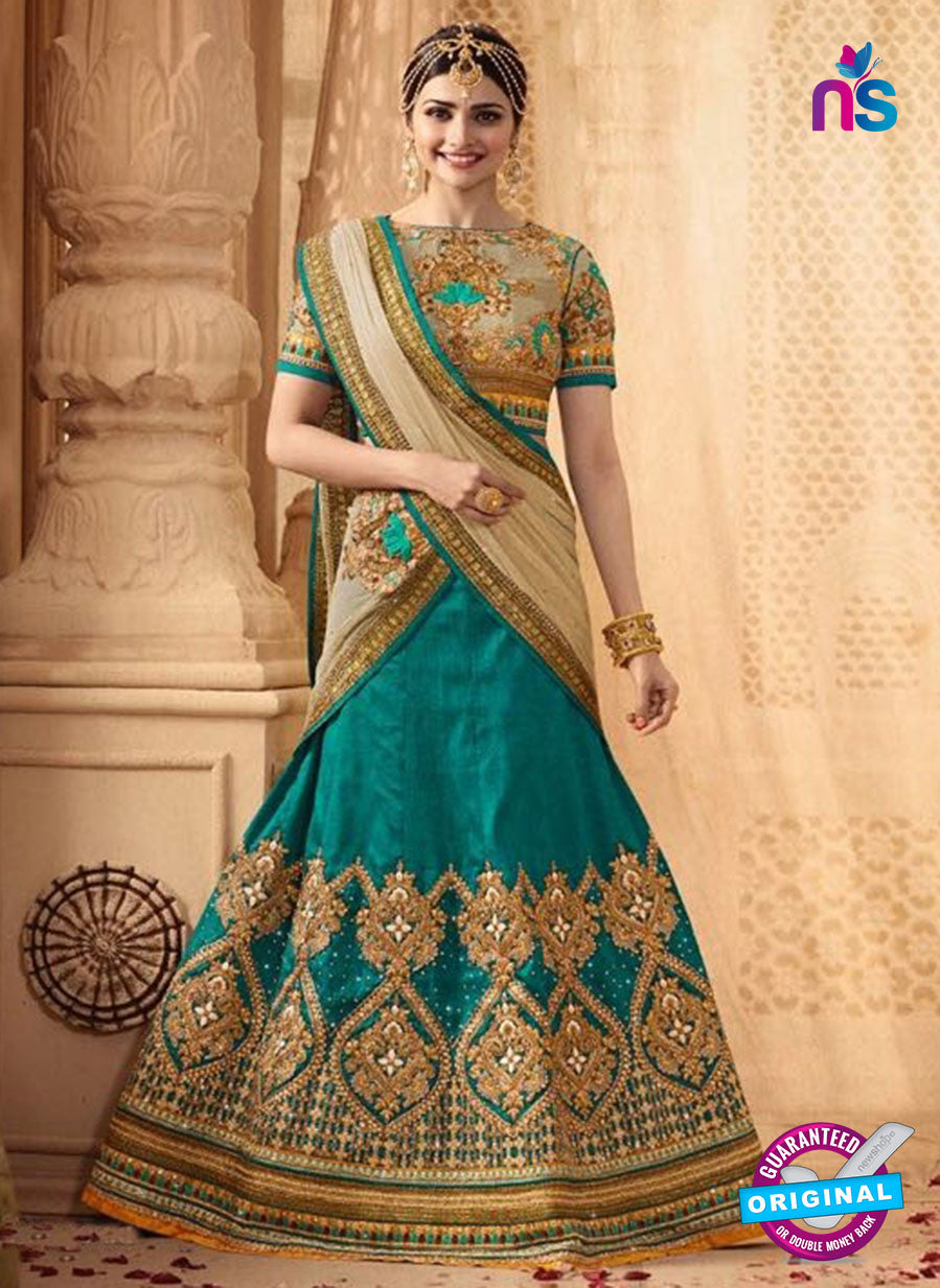 Vinay Fashion 17432 Sea Green Silk Wedding Lehanga