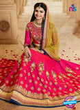 Vinay Fashion 17435 Magenta Silk Wedding Lehanga online