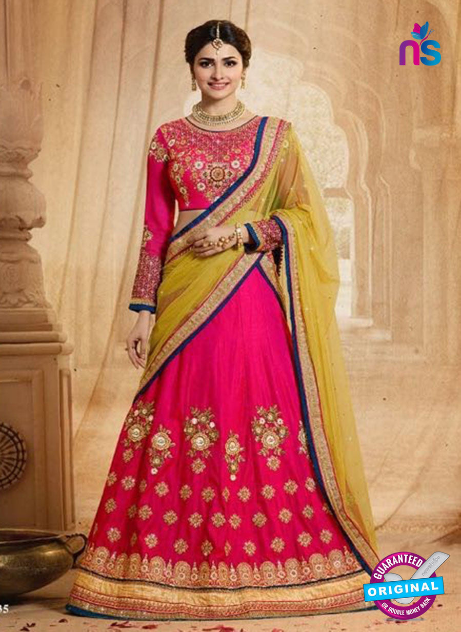 Vinay Fashion 17435 Magenta Silk Wedding Lehanga