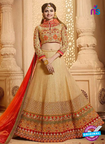 Vinay Fashion 17436 Brown Silk Wedding Lehanga