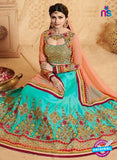Vinay Fashion 17437 Sky Blue Silk Wedding Lehanga Online