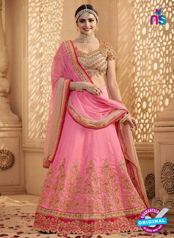 Vinay Fashion 17440 Pink Silk Wedding Lehanga
