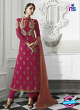 Eternal 175 Pink Georgette Embroidery Party Wear Suit