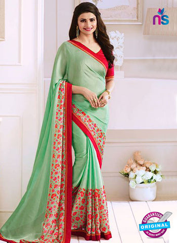 Vinay Fashion 17612 Green Georgette Printed Saree