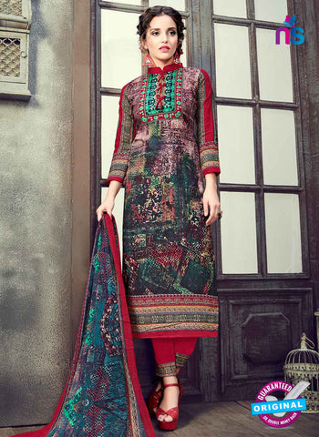 RT 17940 Multicolor Cotton Suit