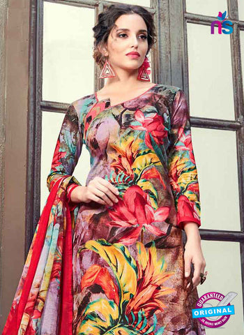 RT 17942 Multicolor Cotton Suit