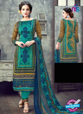 RT 17945 Sea Green Cotton Suit