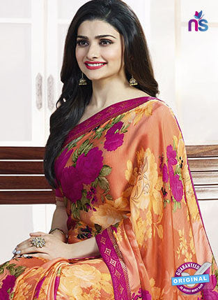 Vinay Fashion 17971 Orange Casual Saree
