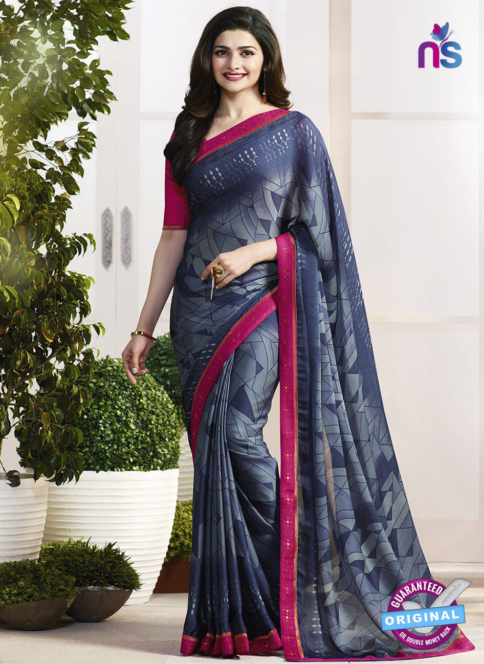 Vinay Fashion 17972 Grey Casual Saree