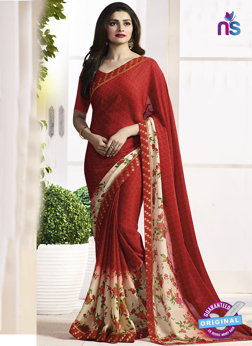 Vinay Fashion 17973 Red Casual Saree